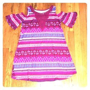 Mudd off-the shoulder dress size 7-8